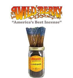 Lavender Incense Sticks by Wild Berry Incense