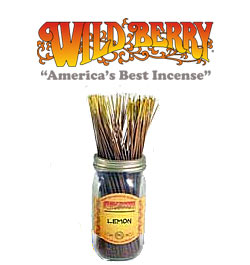 Lemon Incense Sticks by Wild Berry Incense