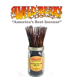 Madagascar Spice Incense Sticks by Wild Berry Incense