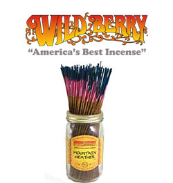 Mountain Heather Incense Sticks by Wild Berry Incense