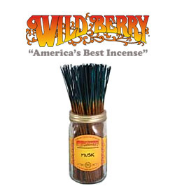 Musk Incense Sticks by Wild Berry Incense