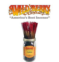 Myrrh Incense Sticks by Wild Berry Incense