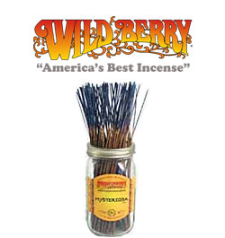 Mysteriosa™ Incense Sticks by Wild Berry Incense