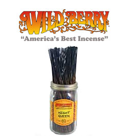 Night Queen Incense Sticks by Wild Berry Incense