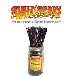 Patchouli Incense Sticks by Wild Berry Incense