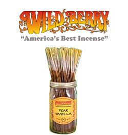 Pear Vanilla Incense Sticks by Wild Berry Incense