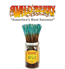 Queen of the Nile Incense Sticks by Wild Berry Incense