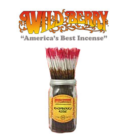 Raspberry Rose Incense Sticks by Wild Berry Incense
