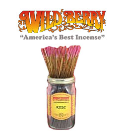 Rose Incense Sticks by Wild Berry Incense