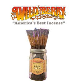 Royal Violet Incense Sticks by Wild Berry Incense