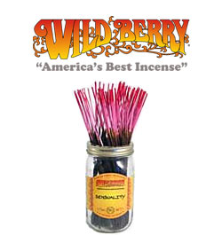 Sensuality Incense Sticks by Wild Berry Incense