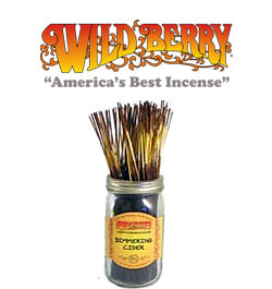Simmering Cider Incense Sticks by Wild Berry Incense