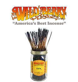 Zen Incense Sticks by Wild Berry Incense