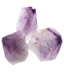 Amethyst Gemstone Points - Raw & Large