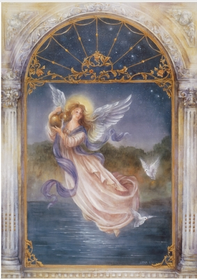 Angel of Purity Get Well Greeting Card