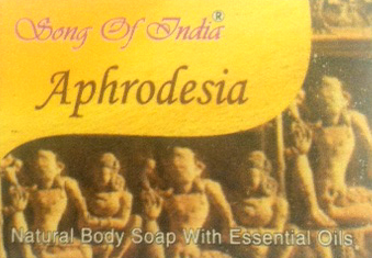 Song of India Herbal Soap with Essential Oils - Aphrodesia