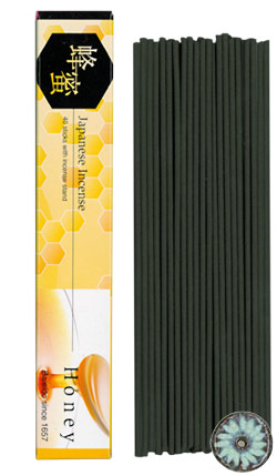 Baieido Honey Incense (Imagine Series) - 40 Sticks + Holder