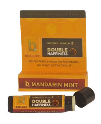 Beeluxe Double Happiness Beeswax Lip Balm
