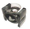 Oil Burner - Soapstone Black Circle