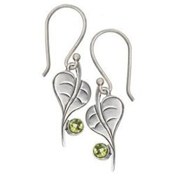 Baby Bodhi Peridot Earrings - Tibet Collection Jewlery