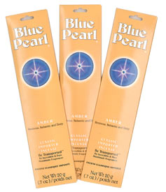 Blue Pearl Incense - Amber Incense