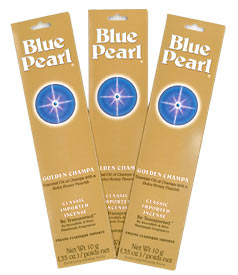 Blue Pearl Incense - Golden Champa Incense