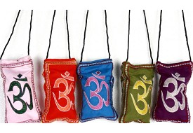 Embroidered Om Cell Phone Bags - Great for IPOD's too!