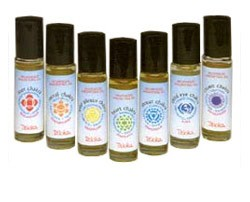 Triloka Ayurvedic Chakra Anointing Roll On Oil - Crown