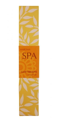 Maroma Spa Incense - Clear Thoughts Incense