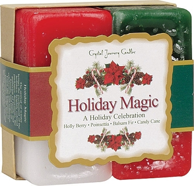 Crystal Journey Candle Gift Set - HolidayMagic