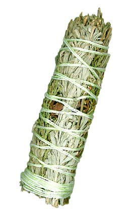 "Ceremonial Sweetcense Smudge Bundle Mini - 4"" (Desert Sage, Cedar & Sweetgrass)"