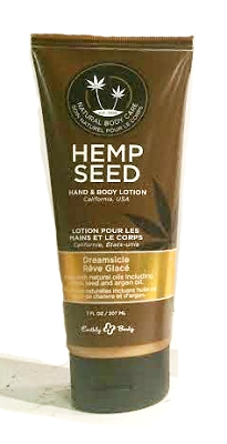 Earthly Body Hemp Seed Hand & Body Lotion - Dreamsicle (Tangerine Plum)