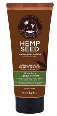 Earthly Body Hemp Seed Hand & Body Lotion - Guavalava (Blackberry Guava)