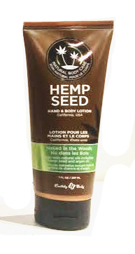 Earthly Body Hemp Seed Hand & Body Lotion - Naked In the Woods (White Tea and Ginger)