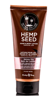 Earthly Body Hemp Seed Hand & Body Lotion - Skinny Dip (Sweet Floral Vanilla & Cotton Candy)