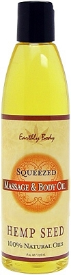 Earthly Body Massage & Body Oil - Squeezed 8 oz.