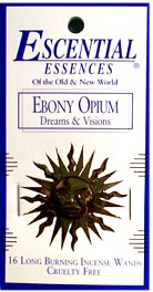 Escential Essences Incense - Ebony Opium