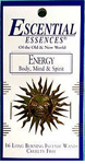 Escential Essences Incense - Energy