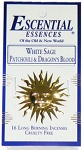Escential Essences Incense - White Sage, Patchouli, and Dragon's Blood