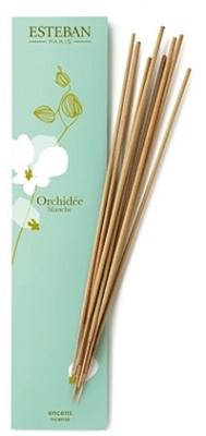 Esteban Incense Orchidee Blanche 20 Bamboo Sticks