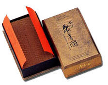 Excellent  (Tokusen) Syukokoku -  (Flat Box - 50 Grams) Silk Road Aloeswood Incense