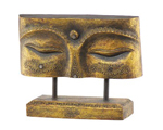 Wood Plaque - Eyes of Buddha Wood Plaque