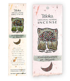 Triloka Original Herbal Incense - Frankincense & Myrrh Incense