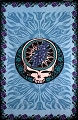 Blue Rose Steal Your Face Tapestry