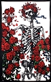 Skeleton 'n Roses Tapestry - Grateful Dead Tapestry