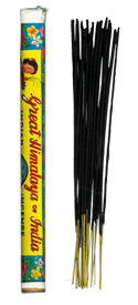 Great Himalaya of India Agarbatti  Incense -  20 gram tube