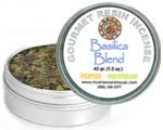 Gourmet Resin Incense - Basilica Blend 1.5 oz. Tin