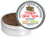 Gourmet Resin Incense - Dragon's Blood 1.5 oz. Tin