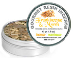Gourmet Resin Incense - Frankincense & Myrrh 1.5 oz. Tin
