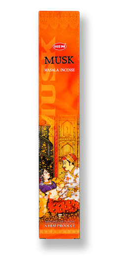 HEM Musk Masala Incense - 12 Stick Box